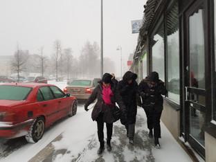 Snöstorm i minnet!