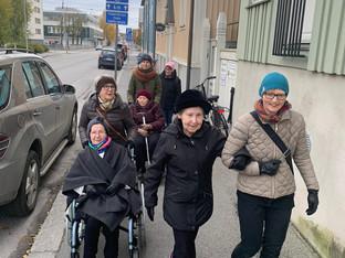 Om andlighet /under de äldres vecka /Hötorgcentret i Jakobstad