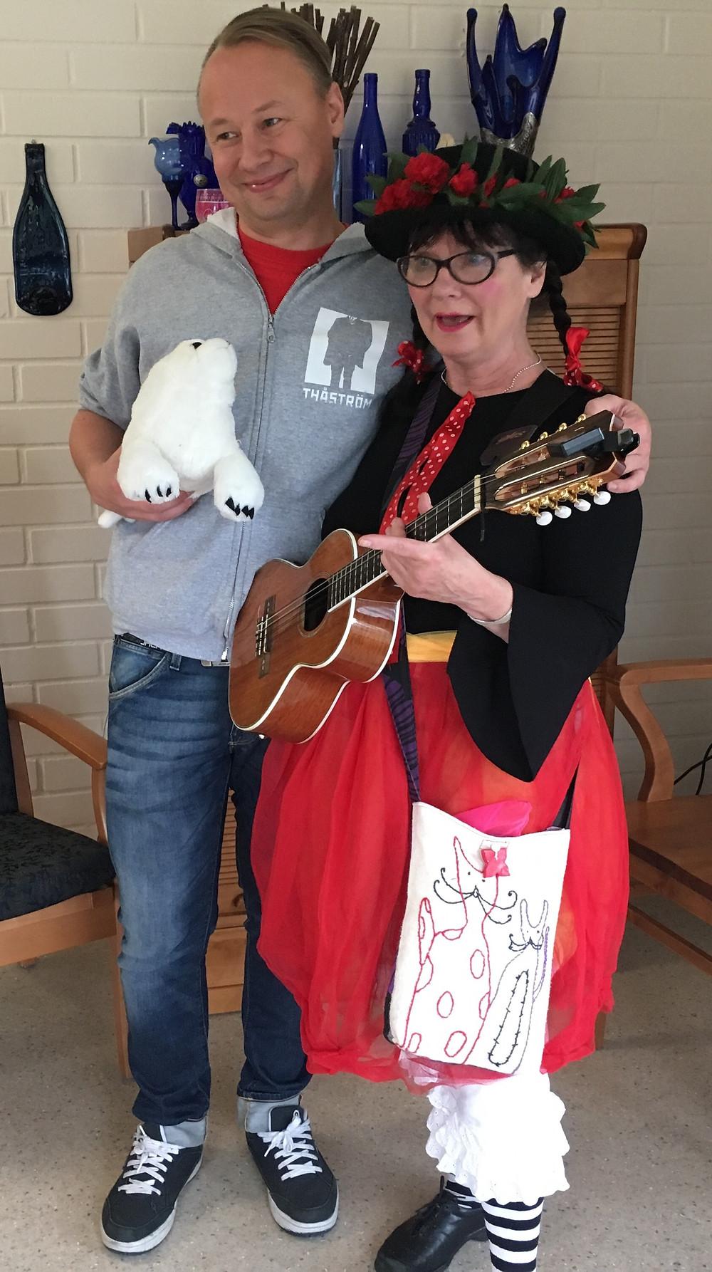 Guy & Lilli på Solbacken igår!