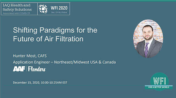 2.1 Shifting Paradigms for the Future of Air Filtration,