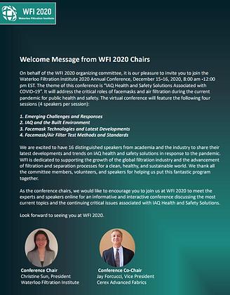 0. WFI 2020 Virtual Conference Full Proceedings