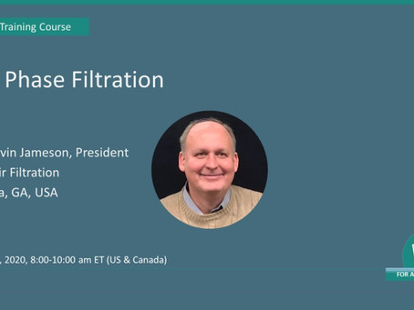 June 23, 2020 – Gas Phase Filtration