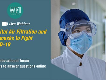 Hospital Air Filtration Webinar Slides Available