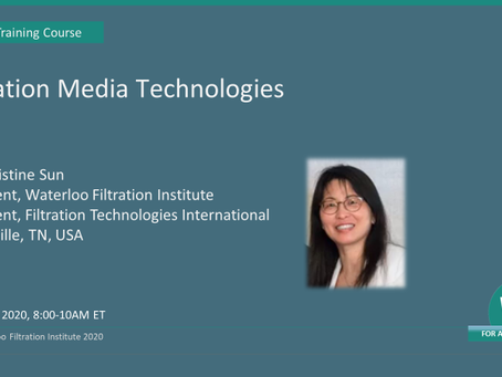 WFI Online Course - Filter Media Technologies