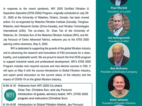 May 5, 2020 - WFI 2020 Opening Ceremony
