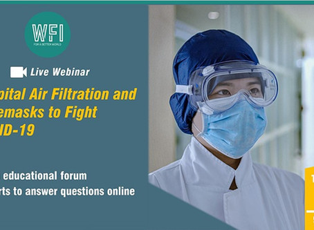 WFI - Hospital Air Filtration and Facemasks