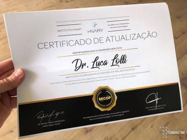Design de certificados