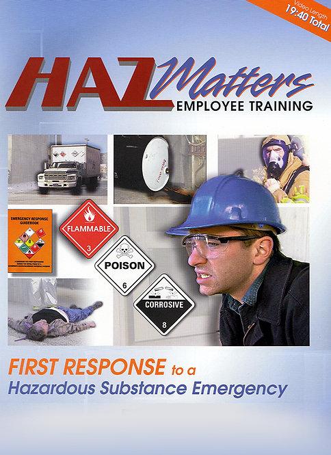 "First Response ""HazMatters"""