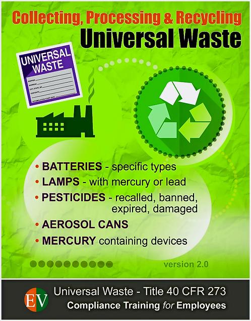 Universal Waste 2021