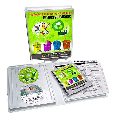 Universal Waste Employee Training Video