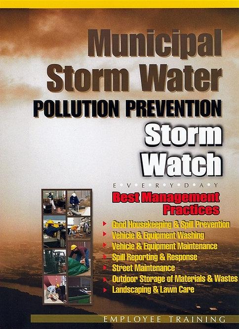 """Municipal Stormwater """"Storm Watch"""""""