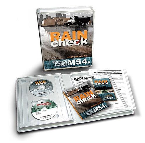 MS4 Stormwater 'Rain Check'