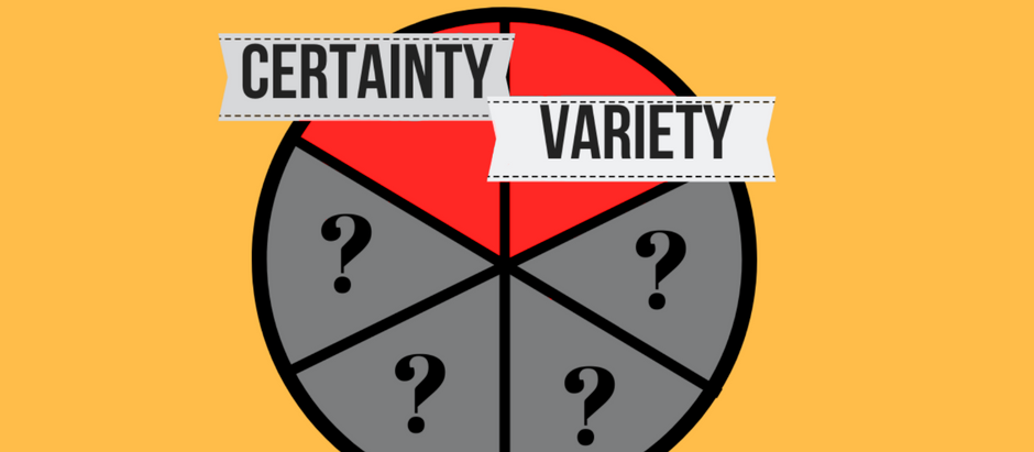 E#55: The Wheel of Needs Part I :The Need for Certainty and Uncertainty(Variety) in our Lives
