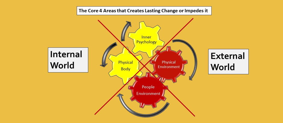 E#3: The Four Core Areas that Creates Lasting Change or Impedes it