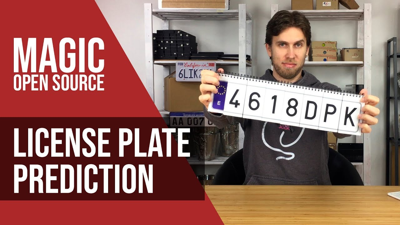 Review : License Plate Prediction by Martin Andersen