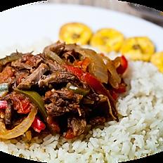 Pepper Steak (Ropa Vieja)