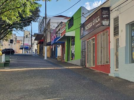 Valinhos estende fechamento de comércio e serviços