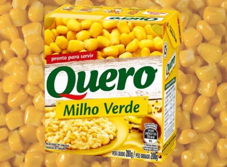 Empresa anuncia recall de milho verde em conserva