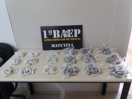 Mãe e filho são detidos por tráfico de drogas em Valinhos