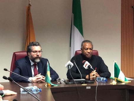 Chanceler destaca papel da Nigéria na aproximação Brasil-África