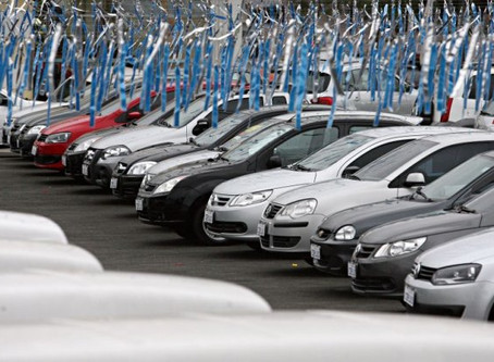 Pandemia interfere pouco na venda de carros