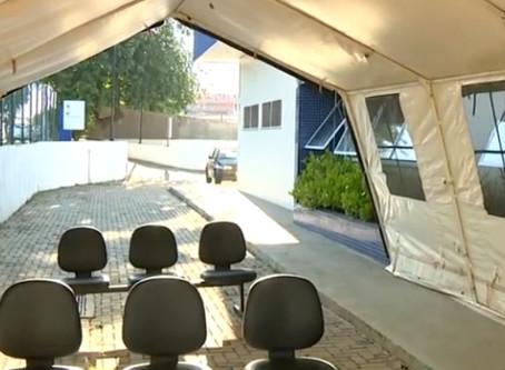 Covid-19: Sumaré inicia triagem de pacientes em tendas do Exército