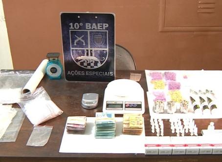 Personal trainer é preso por tráfico de drogas em Sumaré