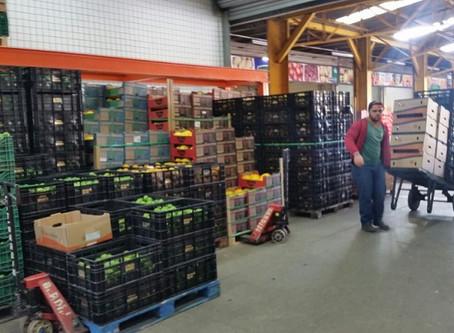 Preços de hortifruti variam no surto