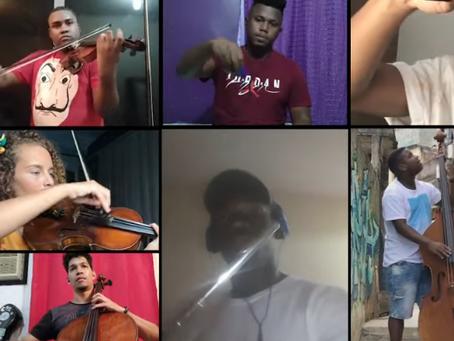 Queen compartilha vídeo de brasileiros