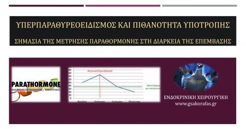 Υπερπαραθυρεοειδισμός (ΗΡΤ) και διεγχειρητική μέτρηση παραθορμόνης-προγνωστική σημασία
