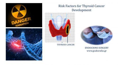 Thyroid cancer - risk factors