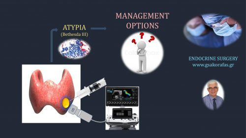 Thyroid nodules and atypia