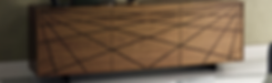 Die formschöne Anrichte WEBBER vonCATTELANist mit zwei, drei oder vier Türen lieferbar. Das Holzgestell ist wahlweise in Weiß o. Graphit lackiert. Die Türen von WEBBER sind in Nussbaum undverbrannteEiche erhältlich. In der drei-türigen Anrichtebefindet sich in der Mitteltür eine Innenschublade.