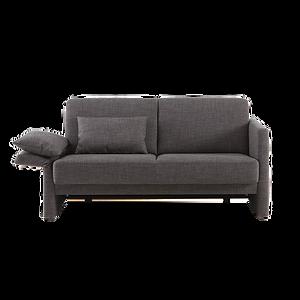 CARA von BRÜHL ist ein komfortables Schlafsofa mit ausgezeichnetem Liegekomfort. Mit einem einzigen Handgriff verwandelt sich das Sofa zum bequemen Bett. Die flexiblen Armlehnen lassen sich bis zur Waagerechten abklappen. CARA kann in Leder sowie Stoffbezügen geliefert werden, alle fest verpolstert. Geeignet für den Dauergebrauch.