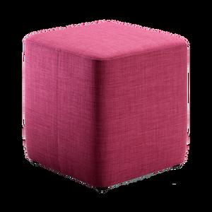 Eine Hockerfamilie mit drei verschiedenen Massen und jeweils einem passenden Tablett. Der Hocker kann als Sitzgelegenheit, Fussablage oder Couchtisch eingesetzt werden. BONO kann mit verschiedenen Bezugs- und Ledermaterialien angezogen werden.
