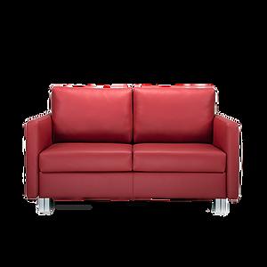Das kompakte Äußere lässt die Verwandlungsfähigkeit des Modells kaum erahnen. CUBISMO ist so der ideale Begleiter für vielfältigste Einsatzbereiche, ob als Festpolster oder Verwandlungssofa in verschiedenen Breiten und mit unterschiedlichen Matratzenqualitäten. Eleganz verleiht dem Modell das optionale Chromuntergestell. Optional auch mit Bettkasten.