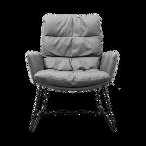 Ein legerer Wohlfühl-Sessel der sich jedem Körpermass anpasst. Der ARVA LOUNGE ist als Hoch- und Niedriglehner erhältlich. Verschiedene Gestelle sowie Metalloberflächen möglich. Ebenfalls ist der Sessel & Hocker drehbar erhältlich.