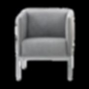 Sessel RANDOLPH zum beliebigen Gruppieren. Trotz geringerMaße,hat der Sessel einen hervorragendenSitzkomfort. Als Solitär eignet sich RANDOLPH gut.
