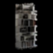 Bei dem Modell WALLY von CATTELAN handelt es sich um ein Anbau-Bücherregal mit einer hohen Belastbarkeit. WALLY ist in Weiß, Schwarz, Graphite, Oyster oder gaufriertem MDF erhältlich.