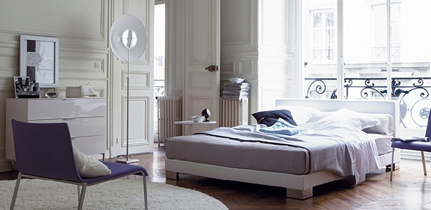 ligne roset bett anna. Black Bedroom Furniture Sets. Home Design Ideas