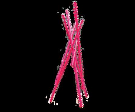 Der Garderobenständer STICKS wird in den Werkstätten des Dominikus-Ringeisen-Werkes im Kloster Maria Bildhausen gefertigt. Er ist in Eiche und Nussbaum geölt, Esche Schwarz und Schneeweiß sowie Esche Neonpink lieferbar. STICKS ist auch als Garderobenstände in kleiner Ausführung für Kinder erhältlich.
