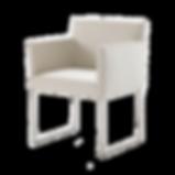 Filigraner Sessel, welcher wahlweise mit Kufen oder Drehkreuz lieferbar ist. KIRK ist ausschließlich mit Armlehnen lieferbar. Optional kann das Drehkreuz mit Rollen ausgestattet werden, so dass der Sessel auch als Bürostuhl verwendet werden kann. Alle Stoffbezüge sind abziehbar, Leder wird fest verpolstert.