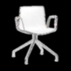 CATIFA 46 von ARPER, ein Stuhl, unzählige Möglichkeiten. Ob in der Farbgestaltung, Fußart- sowie Form, in Polypropylen oder mit gepolstertem Sitz. CATIFA 46 lässt fast keine Gestaltungswünsche offen. Die Sitzfläche ist wahlweise in verschiedenen Steppvarianten erhältlich. Alle Versionen sind mit Armlehnen lieferbar, auf Wunsch auch als Bürostuhl mit Gasdruckfeder zur Höhenverstellung.