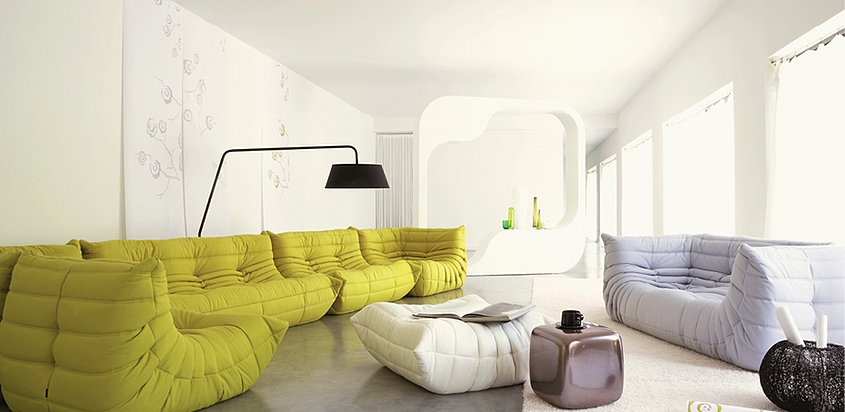 ligne roset sofa togo. Black Bedroom Furniture Sets. Home Design Ideas