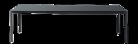 FRACTAL gliedert sich sowohl in Ess- sowie in Büroräume perfekt ein. Die Beine aus Aluminium, Schwarz oder Weiss lackiert bzw. Aluminium glänzend, können Tischplatten aus transparentem, satiniertem oder leicht lackiertem Glas aufnehmen. Weitere Optionen sind Corian, HDS sowie lackiertes Holz. FRACTAL ist in vielen verschiedenen Größen lieferbar.