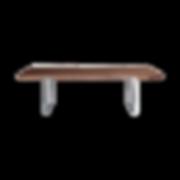 Der SC 25 Tisch ist ein handwerklich gearbeiteter Massivholztisch und zerlegbar. Die Tischplatte wird in ca. 4 cm durchgehend massiv gefertigt. Das Fußgestell ist als V2A- Edelstahl-Rahmen erhältlich. Alternativ werden die Füße in Stahl, farbig pulverbeschichtet (Farben laut Musterkollektion) bzw. in Rohstahl natur lackiert angeboten. Dieser Tisch lebt von der Leichtigkeit des Fußgestells. Das Fußgestell lässt sich auf 3 vorgegebenen Positionen variabel befestigen. Die Abstände der Rasterbohrung von außen betragen 26, 35 und 44 cm. Aufgrund der nach innen versetzten Füße kommt der Tisch auch ohne Spannvorrichtung aus. Rohstahl lässt sich wie das Naturprodukt Holz in seiner Farbe, Beschaffenheit und Maserung nicht genau definieren. Jeder Rohstahlfuß kann eine unterschiedliche Optik aufweisen und verleiht so jedem Tisch seinen eigenen Charakter. Leichte Kratzer und Unebenheiten sind materialbedingt. Reklamationen zur Materialbeschaffenheit von Rohstahl werden nicht akzeptiert.