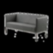 Die Linie RANDOLPH von BRÜHL zum beliebigen Gruppieren. Trotz geringer Maße, hat der Sessel sowie das Sofa einen hervorragenden Sitzkomfort. Als Solitär eignet sich RANDOLPH gut.