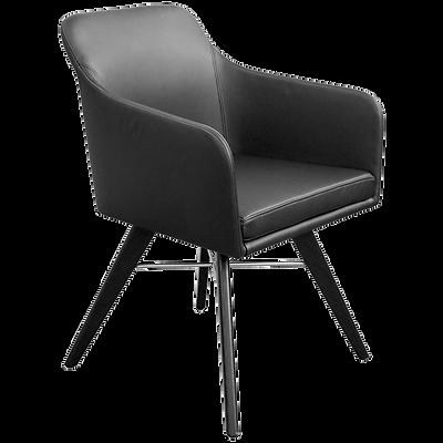 Das ModellYOUMA von KFF lädt zu ausgedehnten Abenden am Esstisch ein. Aber auch in Hotel-Lobbys und edlen Restaurants macht das trendige Sitzmöbel mit den markant ausgestellten Beinen eine gute Figur und trägt dazu bei, dass sich die Gäste rundum wohl-fühlen.  YOUMA ist in 4 Gestellvarianten erhältlich Drehkreuzgestell, Holzgestell, Draht-gestell aus Stahl oder ein 4-Fussgestell Stahlgestell.