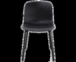 TROY, ein Stuhl, viele verschiedene Möglichkeiten. Wem die Grundform dieses Modells gefällt, findet mit Sicherheit die passende Ausführung dazu. Die Vierfußbeine, Kreuzfüße oder Kufen sind je nach Gestell wahlweise aus massiver Buche, naturbelassen oder lackiert, oder in verchromtem Stahlrohr erhältlich. Ebenso bietet MAGIS den Stuhl TROY mit gepolstertem stoffbezogenem Sitz, lackiertem Polypropylenoder beides in Kombination an. Optional mit Armlehnen lieferbar. TROY ist mit Rollen versehen als Bürostuhl einsetzbar.