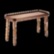 Das Modell CHARLY kann in zwei verschiedenen Größen und Höhen gewählt werden. Ein sehr leichter Beistelltisch der durch die konischen langen Beine sehr grazil wirkt. Der niedrigere Tisch kann unter den höheren platziert werden.